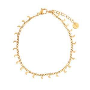 Bracelet moons gold