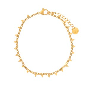 Bracelet triangles gold