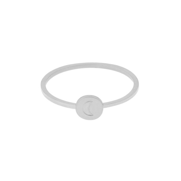 Ring round moon silver