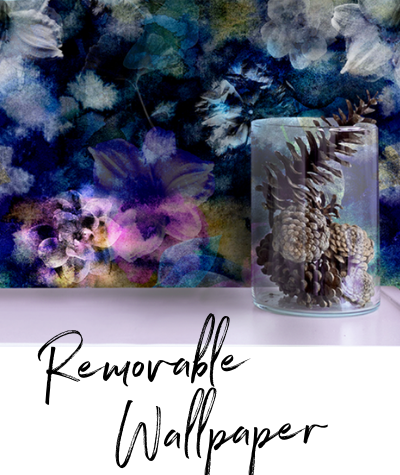 removable wallpaper, designer wallpaper