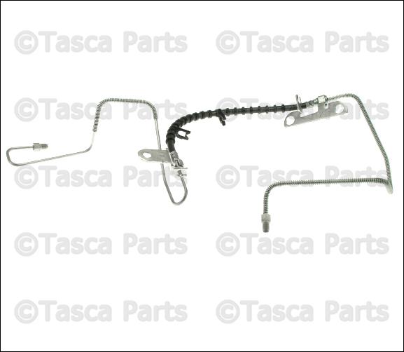 Brake Hydraulic Hose Rear Left Mopar 4721323AD for sale