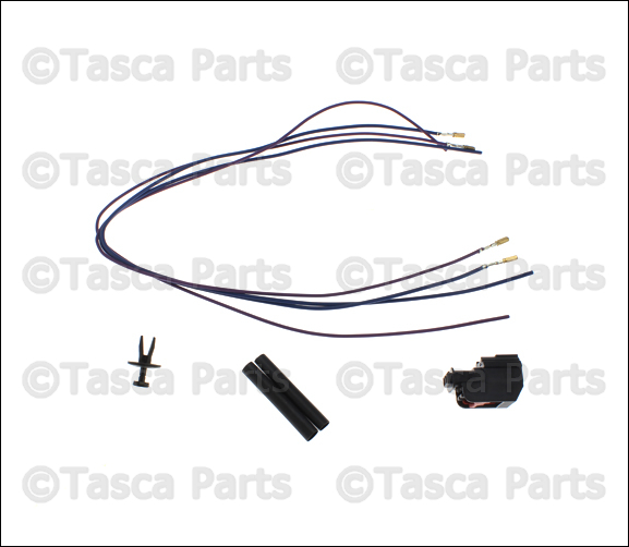 NEW OEM MOPAR AIR INTAKE TEMP SENSOR & WIRING HARNESS 2005
