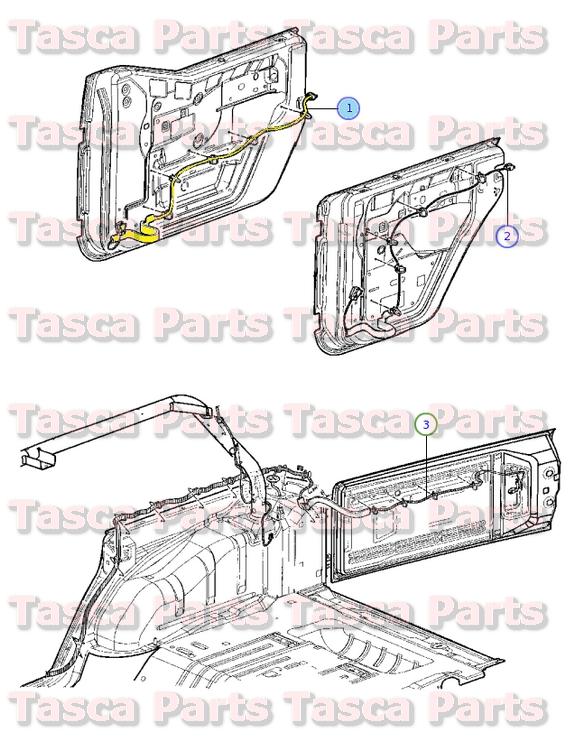 2006 jeep wrangler radio wiring diagram 2000 dodge neon ignition 2011 general data new oem mopar left side front door panel harness 2013 rh ebay com wire sport