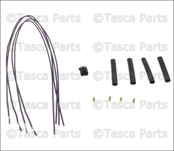 NEW OEM MOPAR 4 WAY WIRING HARNESS 2007-2015 DODGE