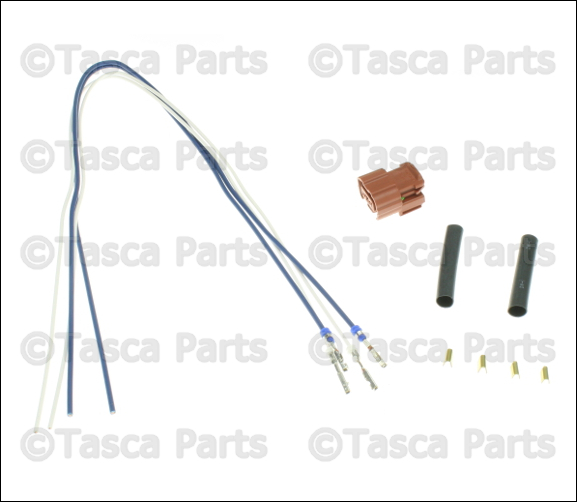 NEW OEM MOPAR Rh/lh Fog Light 2 Way Wiring Harness 2010-15