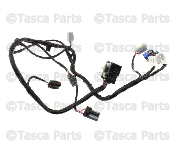 OEM MOPAR FLOOR CONSOLE WIRING HARNESS DODGE CHARGER