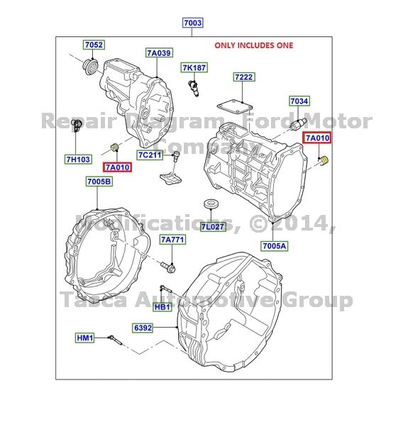 BRAND NEW OEM MANUAL TRANSMISSION PAN PLUG 2001-2014 FORD