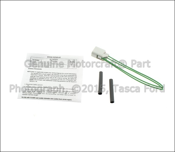 BRAND NEW OEM UNIVERSAL PIGTAIL WIRING HARNESS 2 CAVITY