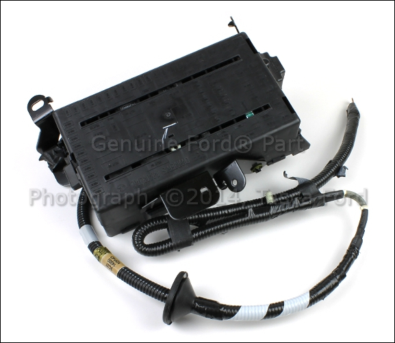 2004 Ford F250 Central Junction Fuse Box Diagram