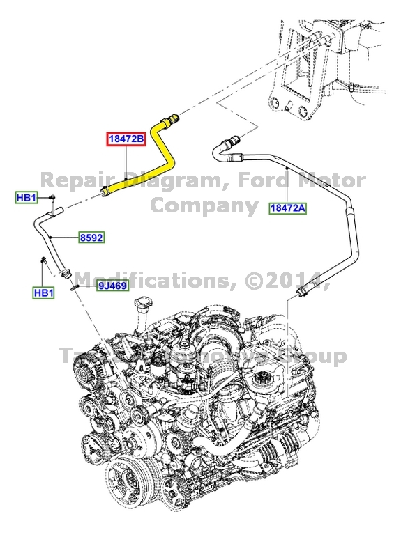 ford f 250 heater diagram