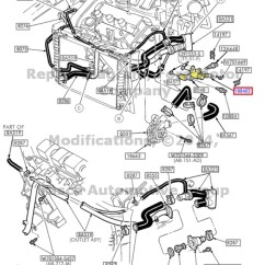 2002 Ford Taurus Engine Diagram Briggs And Stratton Oil Change 1999 Mercury Sable Hose Wiring Diagrams Schematic New Factory Oem Heater Tube 2003 Troubleshooting