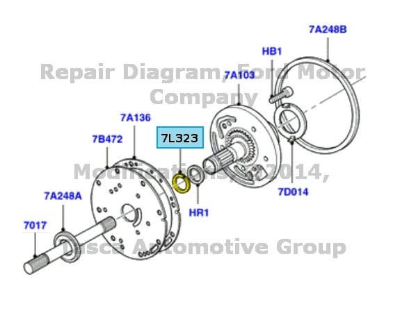 BRAND NEW OEM AUTOMATIC TRANSMISSION OIL PUMP FRONT SEAL