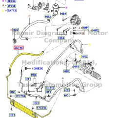 Nitrous Wiring Diagram With Purge 2001 Buick Lesabre Engine Brand New Oem Power Steering Oil Cooler 2000-2004 Ford Focus 2.0l #3s4z-3d746-ba | Ebay
