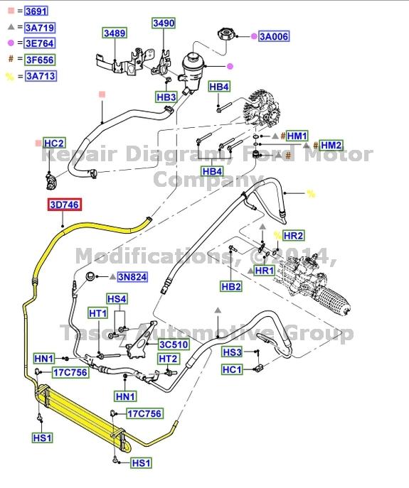 nitrous purge wiring diagram 480v to 208v transformer brand new oem power steering oil cooler 2000-2004 ford focus 2.0l #3s4z-3d746-ba | ebay