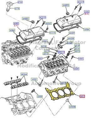 BRAND NEW OEM 38L 39L 42L V6 ENGINE CYLINDER HEAD RH
