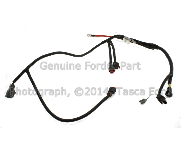 ford wiring harness part number