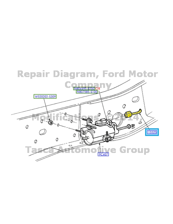 2005 ford alternator wiring harness