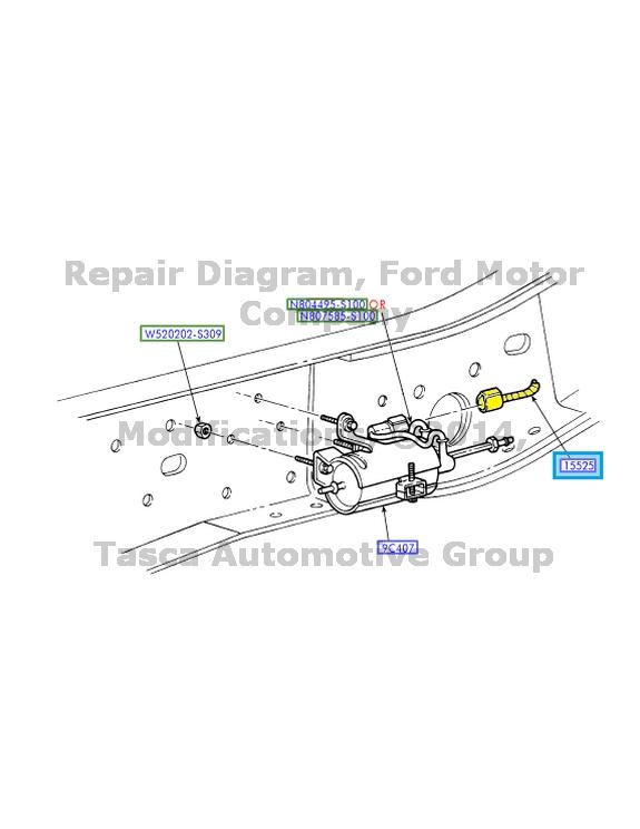 Ford F Super Dutytruck Wiring Diagram Manual Original 2015