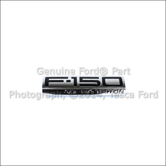 NEW OEM F150 XLT 5.4L TRITON FENDER EMBLEM FORD F-150 2004