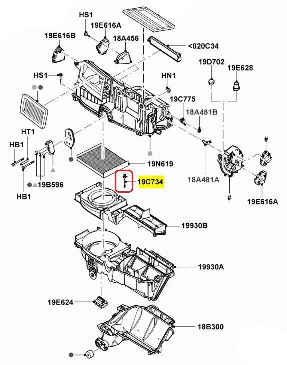 NEW OEM Heater Temp Control Sensor 2006 12 Fusion Milan