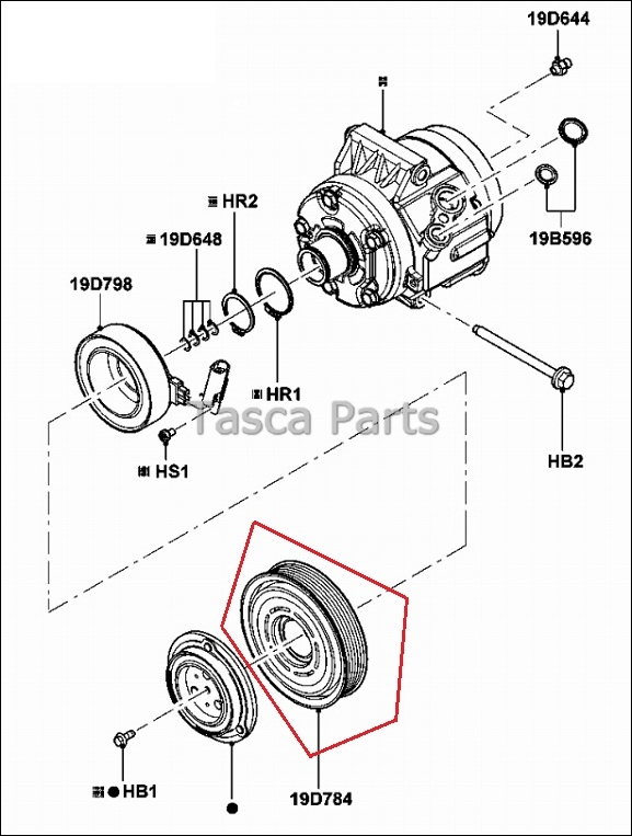 Service manual [2010 Lincoln Mkz Tension Pulley Repair