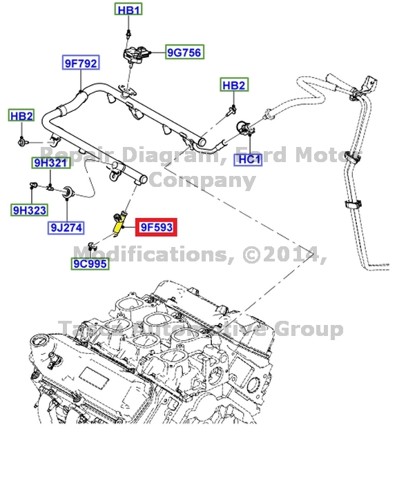 NEW OEM FUEL INJECTOR 3.9L 4.2L V6 2006-2007 FORD FREESTAR