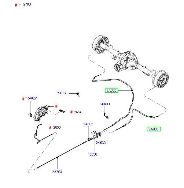 ford ranger parking brake diagram lzk gallery