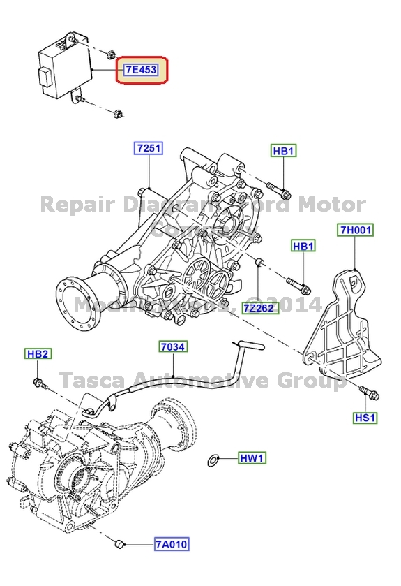 New Transfer Case Shift Control Module 2006 2007 Ford