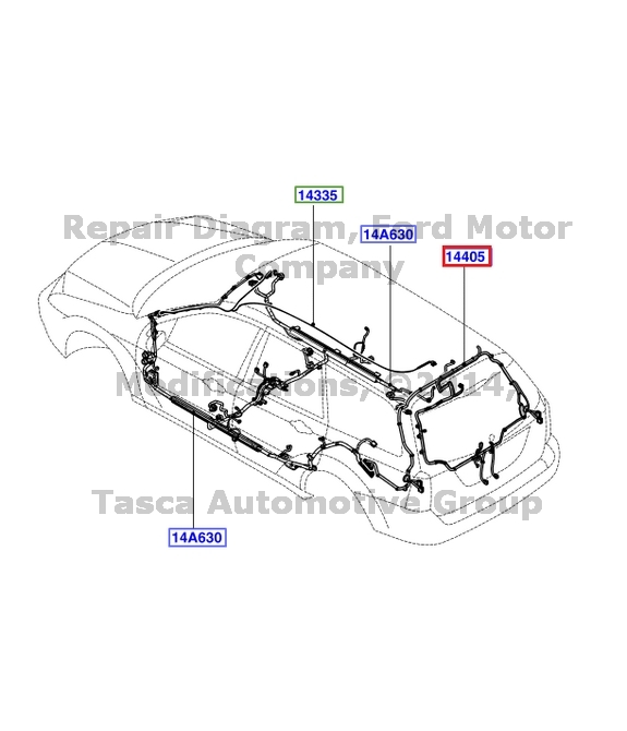 Rep 2006 Ford Focus Wiring Harness. Ford. Auto Wiring Diagram