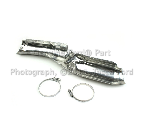 2007 Ford Fusion Exhaust