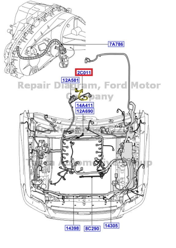 BRAND NEW OEM ROLL STABILITY CONTROL BRAKES WIRING