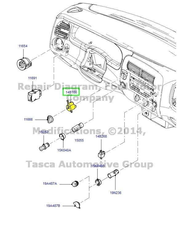 BRAND NEW OEM 4X4 CONTROL SWITCH ASSEMBLY 2007-2011 FORD