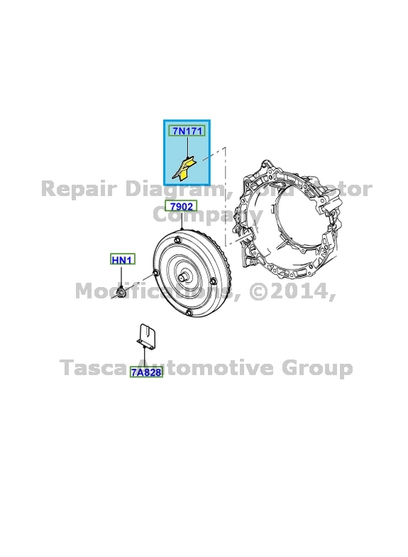BRAND NEW OEM 4 SPEED AUTOMATIC TRANSMISSION GROMMET FORD