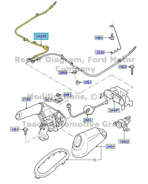 [How To Replace Front Parking Brake Cable 2010 Bmw M3