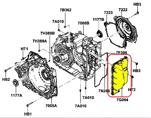 Lincoln Transmission Diagrams: Lincoln transmission