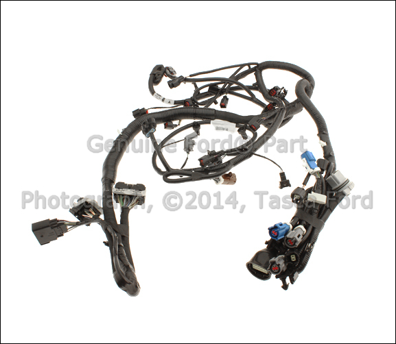NEW OEM ENGINE WIRING HARNESS 2008-2009 FORD EXPLORER