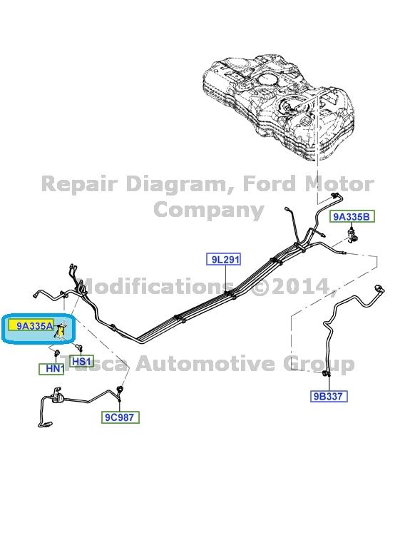 BRAND NEW OEM FUEL LINE BRACKET 1.6L 16V DOHC EFI ZETEC E