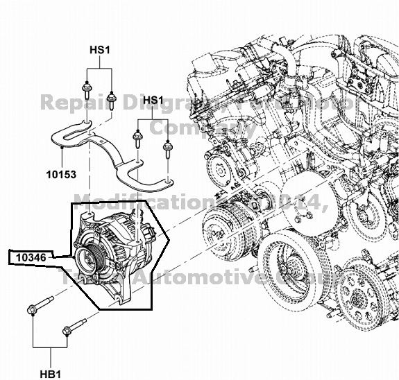 BRAND NEW OEM 150 AMP ALTERNATOR 2009-2012 FORD F250 F350