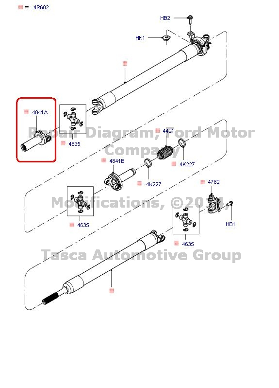 BRAND NEW OEM FRONT COUPLING FALNGE 2009-2010 FORD F-150