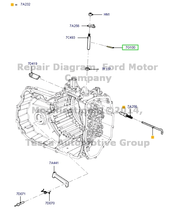 BRAND NEW FORD LINCOLN MERCURY OEM TRANSMISSION MANUAL
