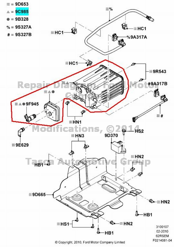 Service manual [Replace Evap Canister On A 2009 Ford F450