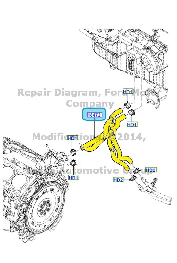2012 Ford Escape Engine Diagram