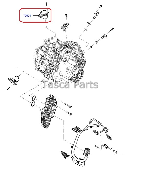 BRAND NEW OEM CLUTCH ACTUATOR 2011-2013 FORD FIESTA FOCUS