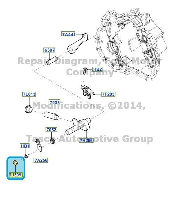 BRAND NEW OEM 6 SPEED AUTOMATIC TRANSMISSION CAP 2011-2013