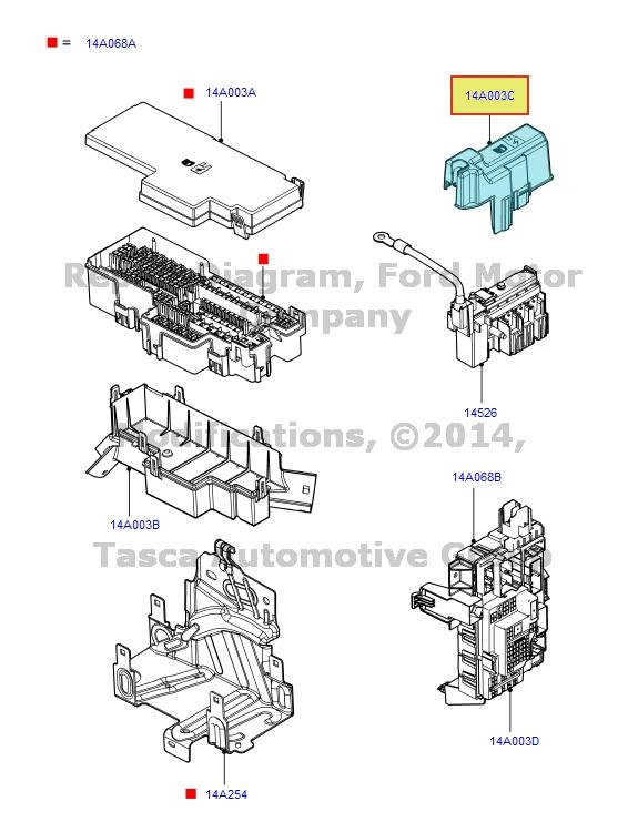 oem 2005 f550 fuse box