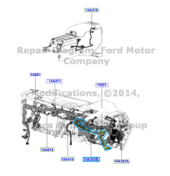 2015 Ford Upfitter Switch Wiring Diagram. Ford. Auto
