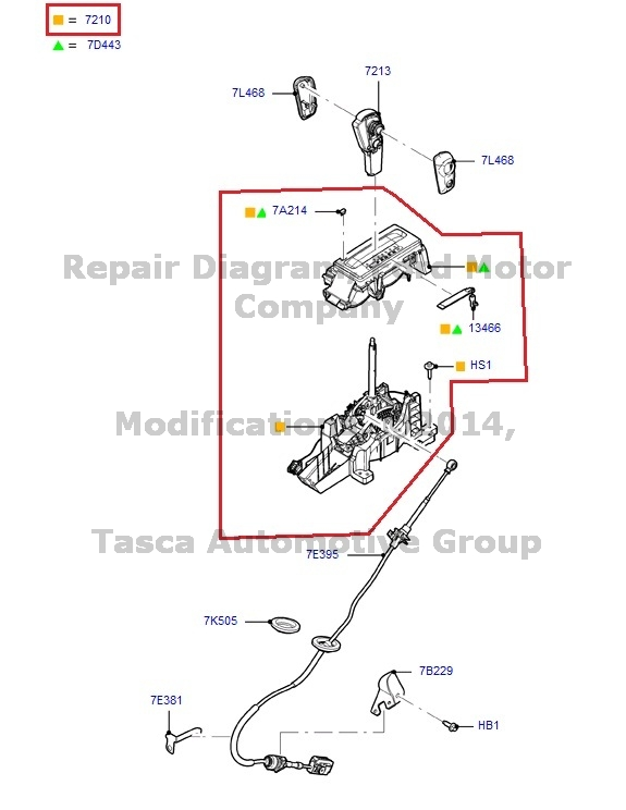 BRAND NEW OEM GEAR SHIFT LEVER 2011-2013 FORD F-150 #BL3Z