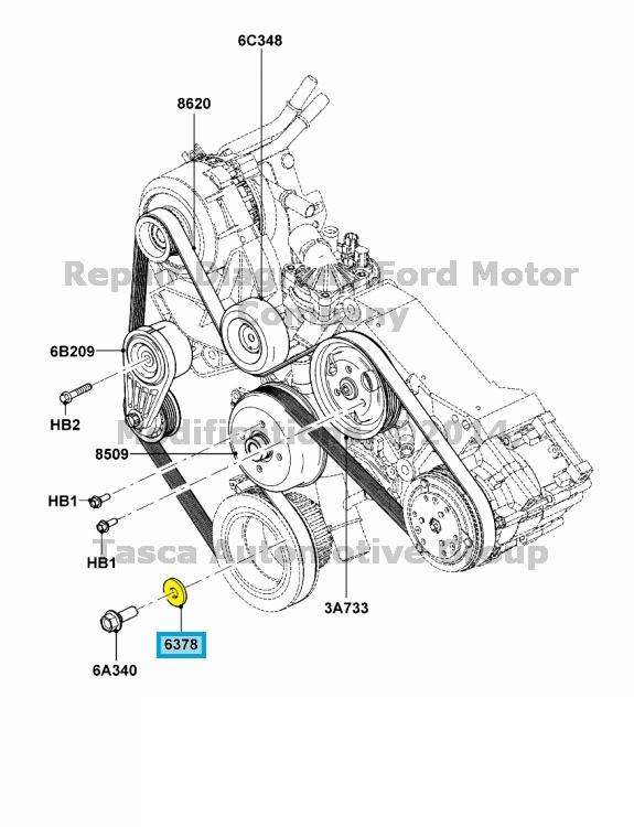 BRAND NEW OEM ENGINE CRANKSHAFT PULLEY RETAINING WASHER