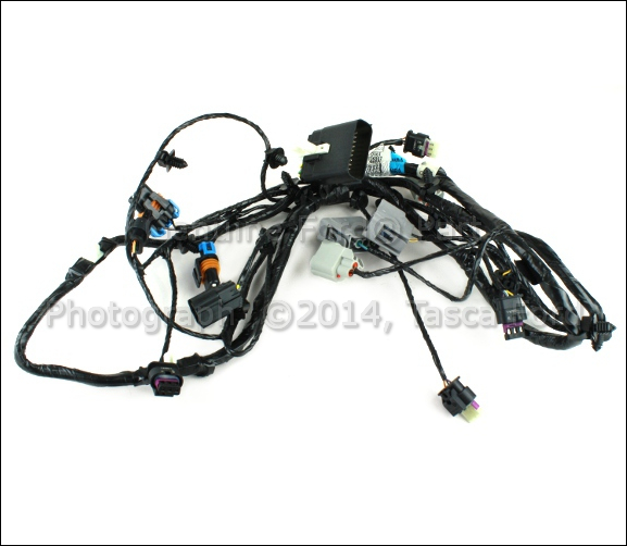 NEW OEM PARKING AID & FOG LIGHT WIRING HARNESS 2013 FORD