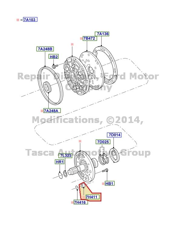 NEW OEM AUTOMATIC TRANSMISSION PUMP CONTROL FLOW VALVE